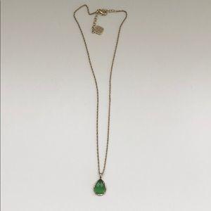 Green Kendra Scott Pendant Necklace